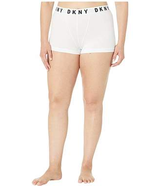 DKNY Intimates Plus Size Cozy Boyfriend Cotton/Modal Boxer Brief