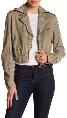 Jakett Vegetable Dye Leather Josey Jacket $550 thestylecure.com