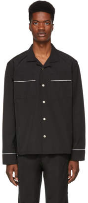 Wonders Black Camp Pyjama Shirt