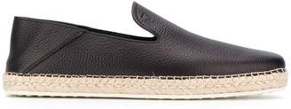 Tod's grained leather espadrilles
