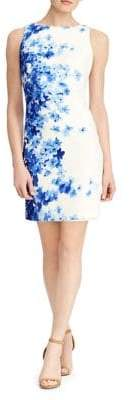 Lauren Ralph Lauren Floral Sleeveless Sheath Dress
