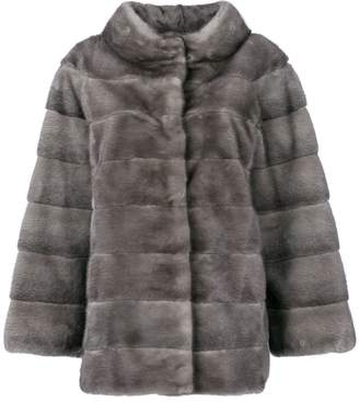 Liska fur padded coat