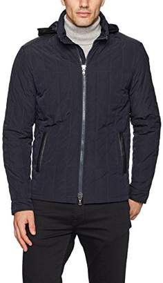 John Varvatos Men's Quilted Jacket Bian 414