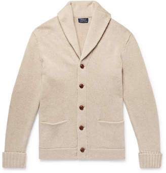 Polo Ralph Lauren Shawl-Collar Wool Cardigan - Beige
