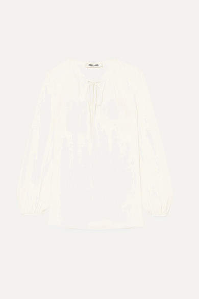 Diane von Furstenberg - Silk Blouse - Ivory