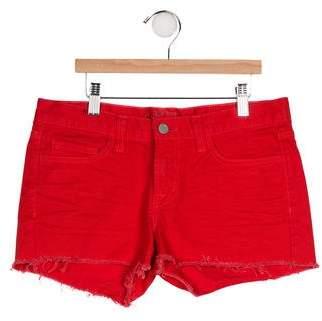 J Brand Lipstick Mini Shorts