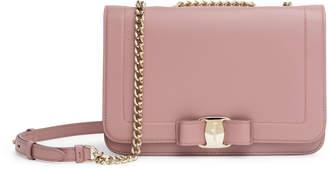 Salvatore Ferragamo Vara Rainbow pink shoulder bag