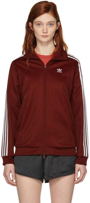 adidas Originals Burgundy BB Track Jacket