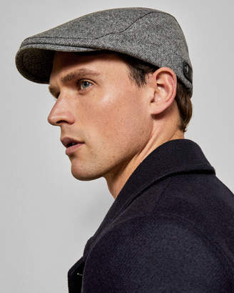 Ted Baker SOUFFLE Textured flat cap