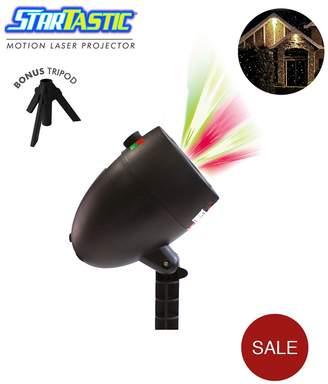 High Street TV Startastic Indoor/Outdoor Motion Laser Projector Light