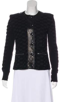 A.L.C. Virgin Wool Textured Blazer