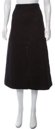 Calvin Klein Collection Cashmere Midi Skirt w/ Tags