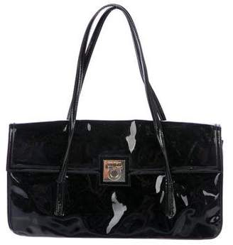 Salvatore Ferragamo Patent Leather Shoulder Bag
