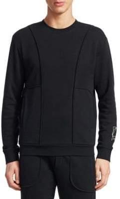 McQ Men's Classic Sweatshirt - Black - Size Large