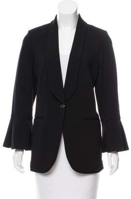 L'Agence Long Sleeve Structured Blazer