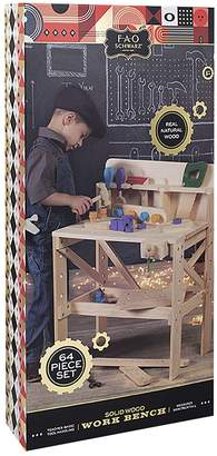 Fao Schwarz FAO Schwarz Kids' Solid Wood Workbench, Large