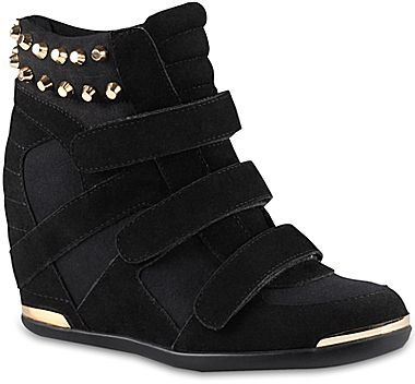 Call it SPRING Call It SpringTM Beni Studded Wedge Sneakers