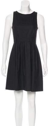 Theyskens' Theory Wool-Blend Mini Dress