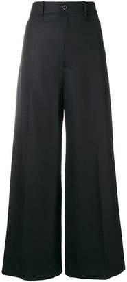 Joseph creased palazzo trousers