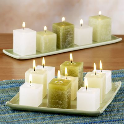 Ceramic Tray Candle Sets