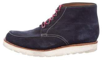 Grenson Suede Hiking Boots