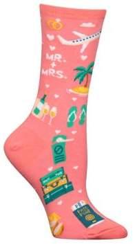 Hot Sox Novelty Multicolor Crew Socks