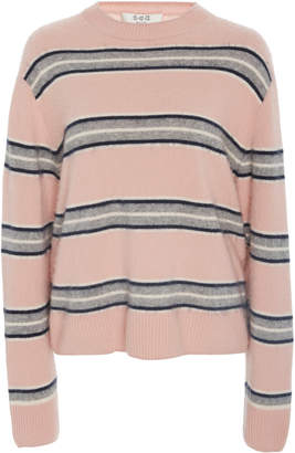 Sea Salene Striped Cashmere Sweater