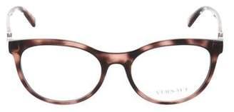 Versace Medusa Round Eyeglasses