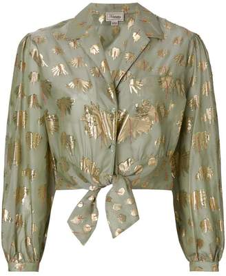 Temperley London Riviera tie shirt