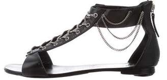 Giuseppe Zanotti Chain-Link Ankle Strap Sandals