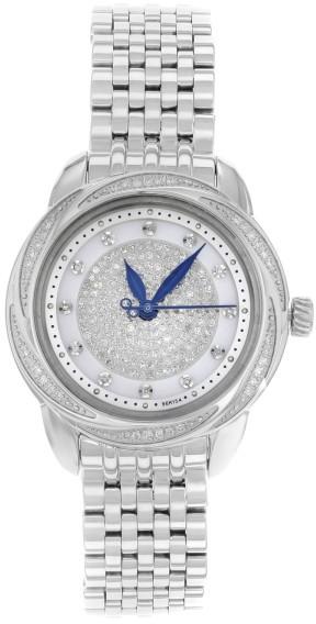 BulovaBulova Precisionist Brightwater 96R154 Stainless Steel Quartz 31mm Womens Watch