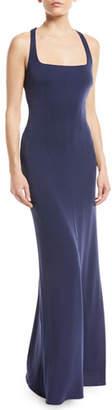 Maria Bianca Nero Amber Ruched Tie-Back Sleeveless Dress