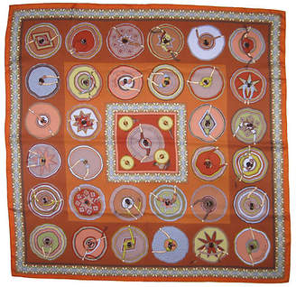 One Kings Lane Vintage HermAs Belles du Mexique Scarf - The Emporium Ltd.