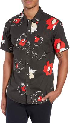 Brixton Charter Print Woven Shirt