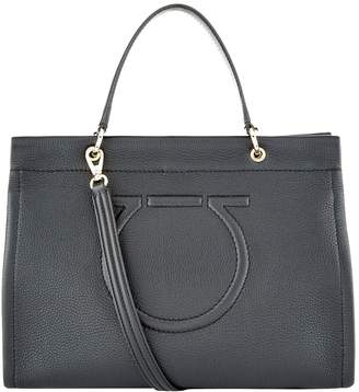 Salvatore Ferragamo Leather Meera Tote Bag