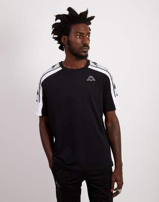 Kappa Banda 10 Arset T-Shirt Black & White
