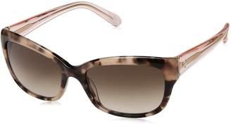 Kate Spade new york Women's Johanna Rectangular Sunglasses