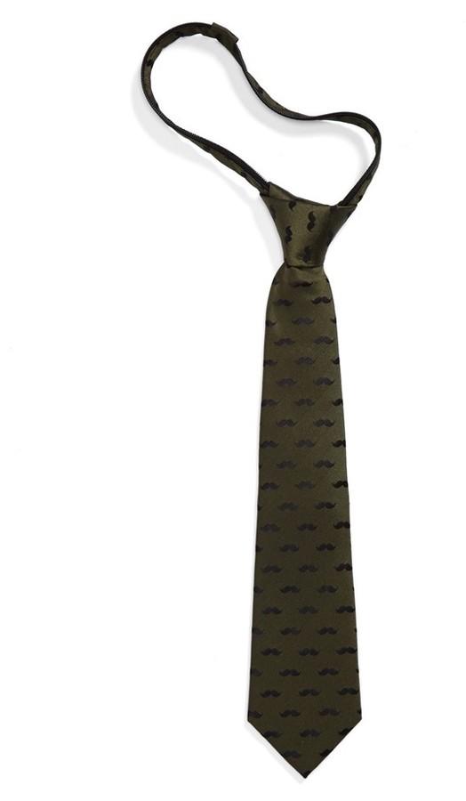 Nordstrom Silk Zipper Tie (Little Boys)