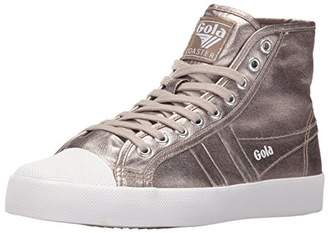 Gola Women's Coaster Metallic High Fashion Sneaker