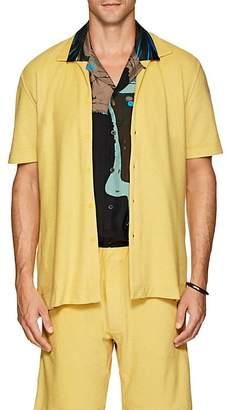P. Johnson Men's Cotton Terry Short Sleeve Shirt