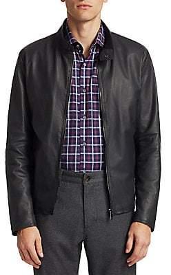 Saks Fifth Avenue Leather Jacket