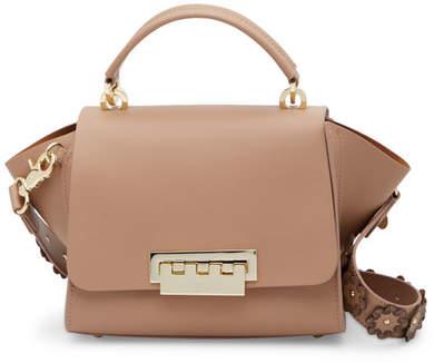 ZAC Zac Posen Eartha Iconic Leather Floral Strap Crossbody Bag