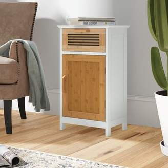 Millwood Pines Tetrault Bamboo Floor 1 Drawer Accent Cabinet Millwood Pines