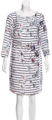 Marchesa Voyage Printed Mini Dress w/ Tags
