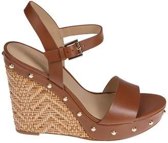 Michael Kors Studded Wedge Sandals