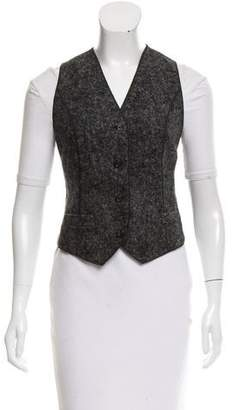 Dolce & Gabbana Alpaca-Blend Casual Vest w/ Tags
