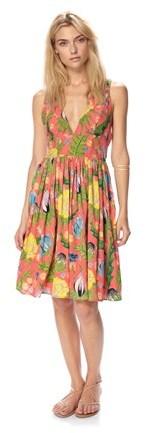 Dr. μ Maggie Lou Floral Dress