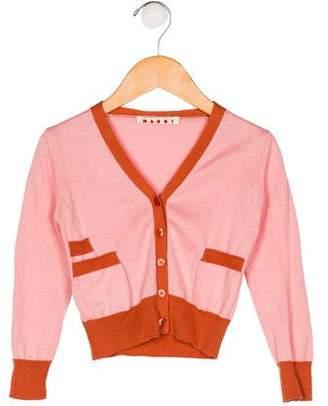 Marni Junior Girls' Knit Cardigan