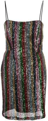 Milly sequinned mini dress