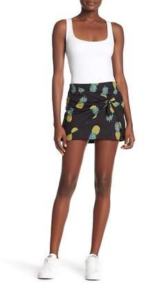 Lea & Viola Pineapple Print Skirt